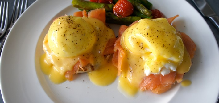 Eggs Benedict According to Steph