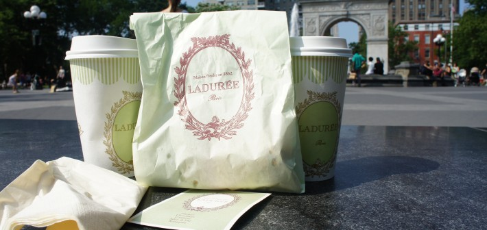 Laduree in Washington Square Park